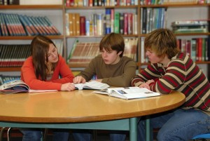 Teen Library Study Group